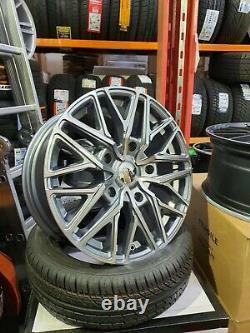 20 Alloy Wheels Ford Transit Custom Van style Gunmetal