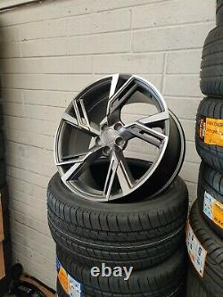 20 Audi a5 a6 a7 a8 q2 q3 q5 q7 Alloy Wheels 5x112 rs6 style