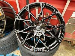 20 BLACK 795M style Alloy Wheels +Tyres Bmw 3 Series G20 G21 5 Series G30 G31