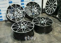 20'' Inch Competition 666m Style New Alloy Wheels Fits Bmw 3 / 4 / 5 /6 Series