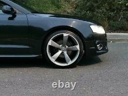 20 Rotor Arm Style Alloy Wheels 5x112 Rs5 Rs4 Rs3 A5 S5 Rs6 T4 Transporter S4