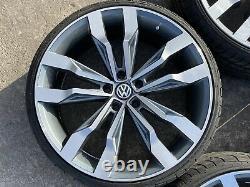 20 VW Tiguan R Style Alloy Wheels 5x112 VW Passat Caddy Golf Audi A3 A4
