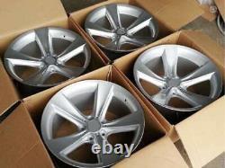 20 inch Alloy wheels fit BMW E38 E60 E61 E63 E65 128 style 5x120 New 4 rims