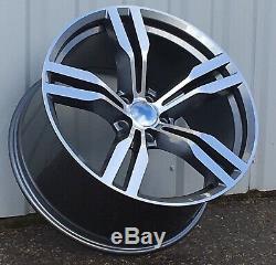 20 inch Alloy wheels fit BMW F01 F02 F07 F10 F11 648 style 5x120 8.5J + 9.5J