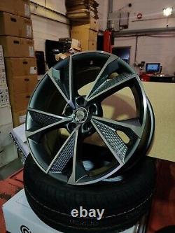 21 Audi a4 a5 a6 a7 a8 q2 q3 q5 Alloy Wheels 5x112 rs7 style 57017