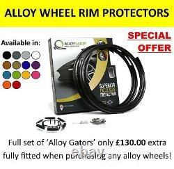 22 Inch 9 Split Spoke 9007 Style Range Rover Velar New Alloy Wheels & Tyres