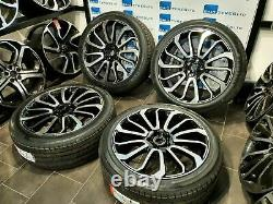 22 Inch Turbine 7007 Style Land Rover & Range Rover Sport Alloy Wheels & Tyres