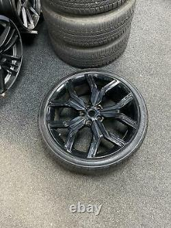 22 Range Rover Style Alloy Wheels And Tyres Vogue Sport Disco Transporter