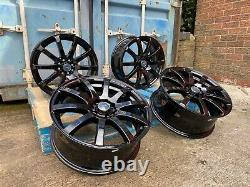 4 x 17 ALLOY WHEELS BBS RS STYLE TO FIT BMW MINI COOPER S VAUXHALL CORSA 4X100