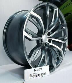 4 x 22 X5M STYLE ALLOY WHEELS TO FIT BMW