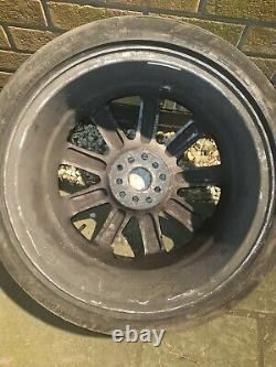 4 x Audi TT RS4 Style MK1 18 5x100 5x112 9 Spoke Alloy Wheels with tyres black