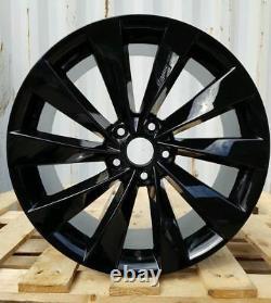 4x 18 Scirocco Turbine Style Alloy Wheels Fits Vw Golf Passat Caddy Eos 5x112