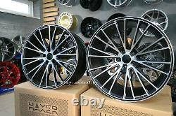 4x 20 inch 5x112 HAXER HX040 CONCAVE CF2 style alloy wheels for MERCEDES E S