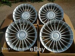 4x 20 inch ALPINA Style Rims Fits BMW 5 7 GT Silver Alloy Wheels Concave New