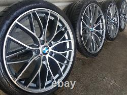 4x BMW 3 4 5 6 7 Series 20 405 M Performance style Alloy Wheels & Tyres F30 10