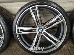 4x BMW 3 4 5 6 7 Series 20 703 M Sport style Alloy Wheels & Tyres F30 F10 11 12