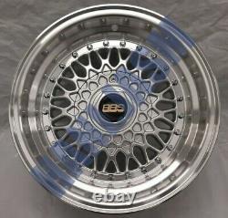 4x New 15 Alloy Wheels Alloys Bbs Rs Style 4x100 Mini R50 R53 R55 R56 Cooper S