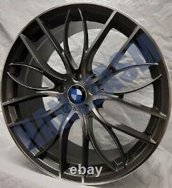 4x New Alloy Wheels 20 Alloys M Performance Style Fit Bmw 3 4 Series Grey 405m