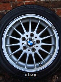 4x gen. BMW 3 Series Rims Alloy Wheels Aluminium E36 E46 Style 32 6769229 16