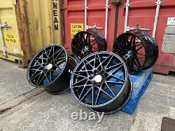 666m Style 19 Performance Sport Alloy Wheels Alloys M Bmw 3 4 5 Series Black