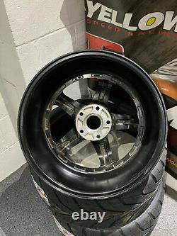 7Twenty Wheels Style 49 5x120 18x10.5J ET15 Black Alloy Wheel