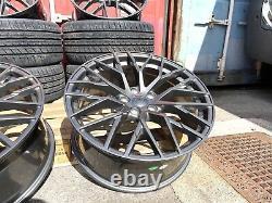 AUDI A3 A4 TT VW GOLF CADDY SEAT LEON 19 8.5j ET45 R8 Style Alloy Wheels 5x112