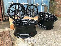 Alloy Wheels 19 BMW 1M 359 Style BLACK BMW 1 2 3 4 Series E90 E91 E92 E93 Z4 X3