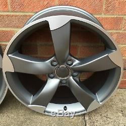 Alloy Wheels 4 x 20 TTRS Style Commercially Rated Volkswagen Transporter T5 T6