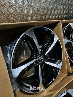Audi S Line Rotor Rota S7 Style 19 Alloy Wheels Black Edition A4 A5 A6 A7 Caddy