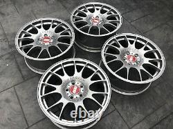 BBS CH 004 MOTORSPORT STYLE 18 ALLOY WHEELS 5x112 VOLKSWAGEN VW Audi