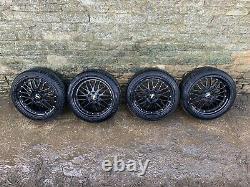 BBS LM Style Reps 18 Inch Alloy Wheels 5x100 ET 32 8J & 9J Audi TT A3 VW Golf