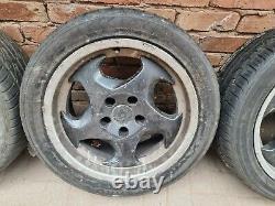 BMW E34 style 21 M5 throwing star alloy wheels e36 e30 m3 e28 e24 etc