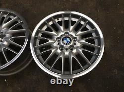 BMW E36 E46 E90 E87 MV1 18 ALLOY WHEELS 5x120 Style72 Diamond Cut Lips