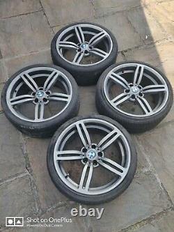 BMW E39 19 Inch Alloy Wheels Complete With Tyres M6 Style