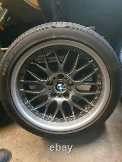 BMW E39 ORIGINAL BBS RS744 RS745 18 Alloy Wheels STYLE 42