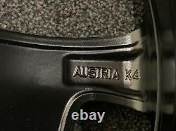 BMW E84 E87 E90 E91 E92 NEW Genuine Alloy Wheels Black Star Spoke Style 319 R17