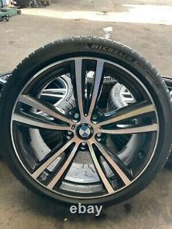 Bmw 3&4 Series F30 F3x 19 Style 442m Orbit Grey Alloy Wheels & Michelin Tyres