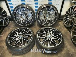 Bmw 3 Series 18'' Inch Competition 666m Style New Alloy Wheels & Tyres E90 E91