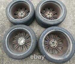 Bmw E46 M3 Style 67 18 Inch Alloy Wheels NOT Genuine 4x8.5J