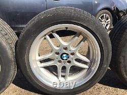 Bmw Style 37 M Parallel Alloy Wheels 18'' E38 E34 E36 Set Of Four