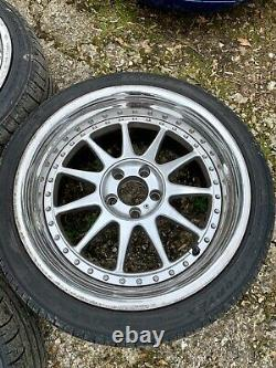 Elegant Styling Platinum Ford Focus ST 5x108 18 9x18 Alloy Wheels Jaguar Volvo