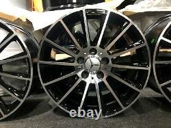 Ex Display 17 Mercedes AMG Turbine Style Alloy Wheels A-Class B-Class CLA +
