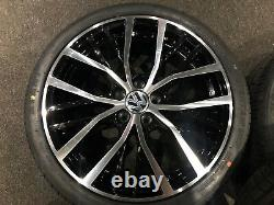 Ex Display 17 VW Polo GTI Style Alloy Wheels And 215/40/17 Tyres