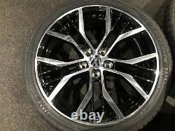 Ex Display 18 VW Golf GTD Santiago Style Alloy Wheels And 225/40/18 Tyres