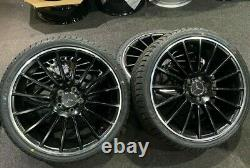 Ex Display 19 Mercedes AMG Style Alloy Wheels And 235/35/19 Tyres A/B Class CLA