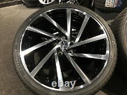 Ex Display 19 VW Golf R 7.5 Spielberg Style Alloy Wheels And 235/35/19 Tyres