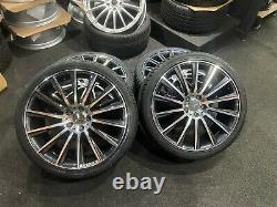 Ex Display 20 Mercedes AMG Turbine style Alloy Wheels 2453520 2753020 Tyres