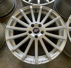 Ford Focus Rs Mk2 Style 18 Alloy Wheels Connect Mondeo Volvo