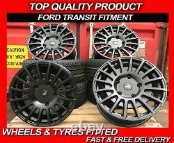 Ford Transit M Sport Style Alloy Wheels 20 ALUWERKS RST Transit Custom + TYRES