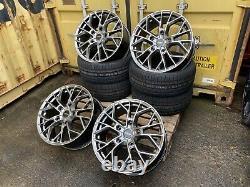 Ford Transit M Sport Style Alloy Wheels 20 PLATINUM Transit Custom 8.5J + TYRES